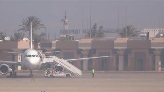 preview picture of video 'Take-off from Agadir almassira airport  Air Mediterrannée'