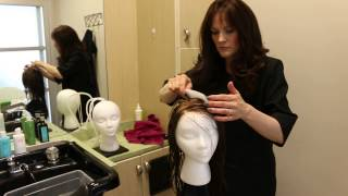 How To Style a Hand Tied Human Hair Wig