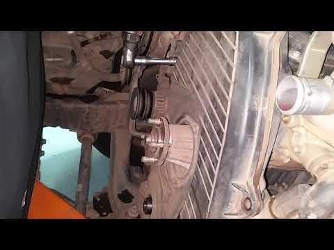 How to remove T-belt cover Toyota prado Engine 5L,How to remove