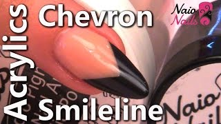 How To Create A Chevron Smile Line