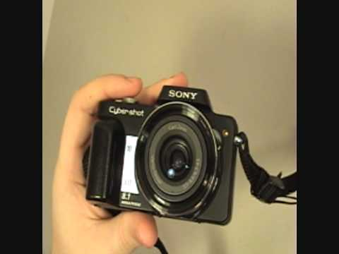 SONY Cybershot DSC H10 review digital camera 1080HD HD high deffinition photo pictures