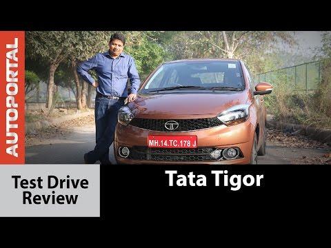 Tata Tigor Test Drive Review - Autoportal