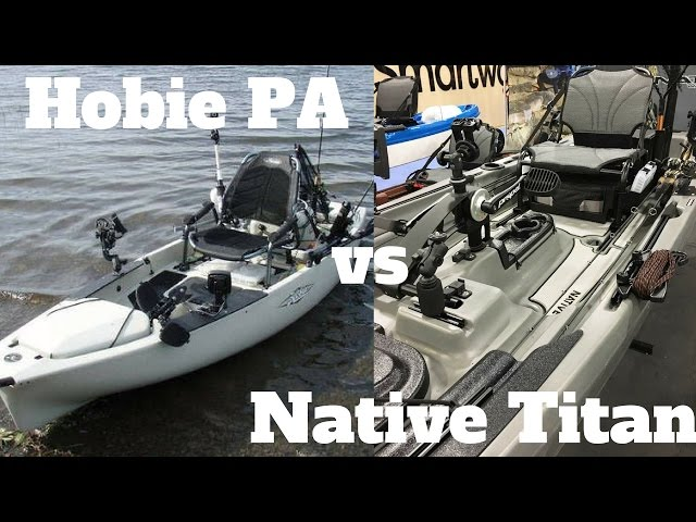 Hobie Pro Angler vs Native Watercraft Titan (Which Fishing Kayak is Better?)