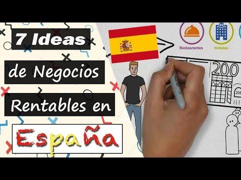 , title : '7 Ideas de Negocios MÁS RENTABLES en España 🤑 | Negocios en Auge 2018'