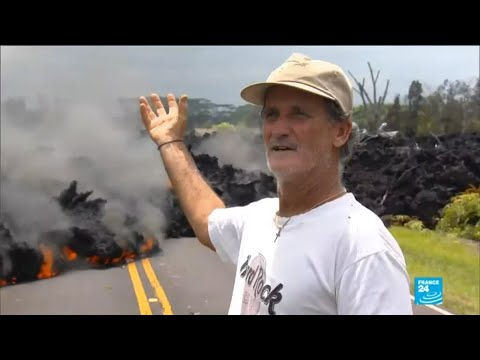 US - More than two dozen homes destroyed by Hawaii volcano