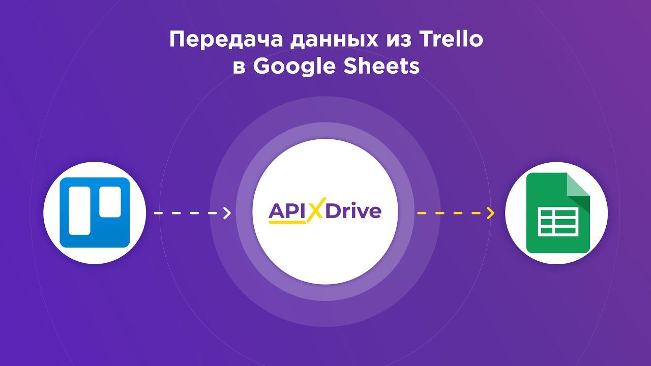 Как настроить выгрузку данных по задачам из Trello в Google Sheets?