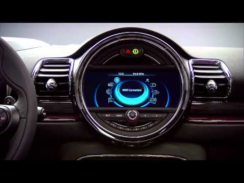 2016 MINI Clubman interior footage