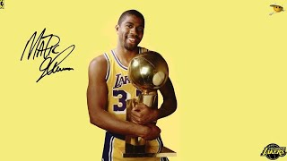 "Earvin ""Magic"" Johnson (The Greatest Point Guard Ever to Play The Game) NBA Legends"