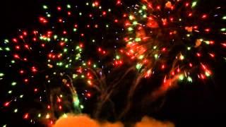 Pokaz sztucznych ogni - TRYTON pirotechnika - Konin 2013