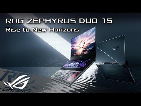 "ASUS ROG Zephyrus Duo 15 – GX550LXS-HC109R (15.60"", UHD, Core i9-10980HK, 32GB, 2000GB, SSD)"
