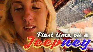 First Time on a Jeppney (Iloilo City)