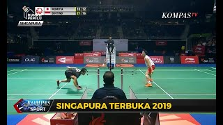 Anthony Ginting Kalah, Indonesia Tanpa Gelar Di Singapore Open 2019