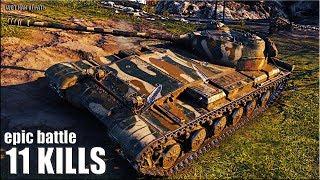 Объект 430 вариант 2 🌟 Колобанов, 11 фрагов 🌟 World of Tanks лучший бой