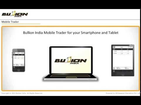Video of Bullion India Mobile App