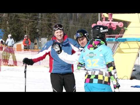 Видео: Видео горнолыжного курорта Таштагол-Буланже-Туманная в Кемеровская область