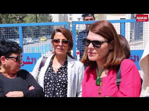 فيديو| الموظفون المحالون للتقاعد يعتصمون امام مجلس الوزراء