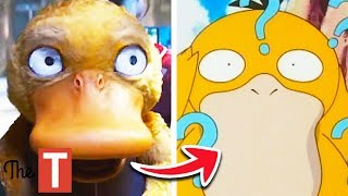 Pokemon Detective Pikachu Movie Characters Compared To The Original Anime