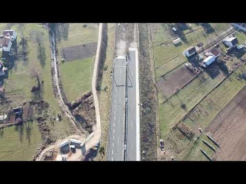 Gradilište autoputa od Tarčina do Ivan planine