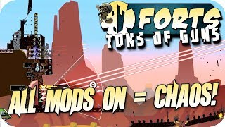 Forts 3v3 Multiplayer Gameplay All Mods On, What Could Possibly Go Wrong