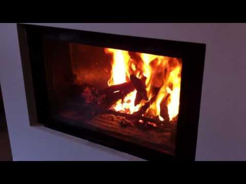 Como funciona una chimenea de leña recuperadora
