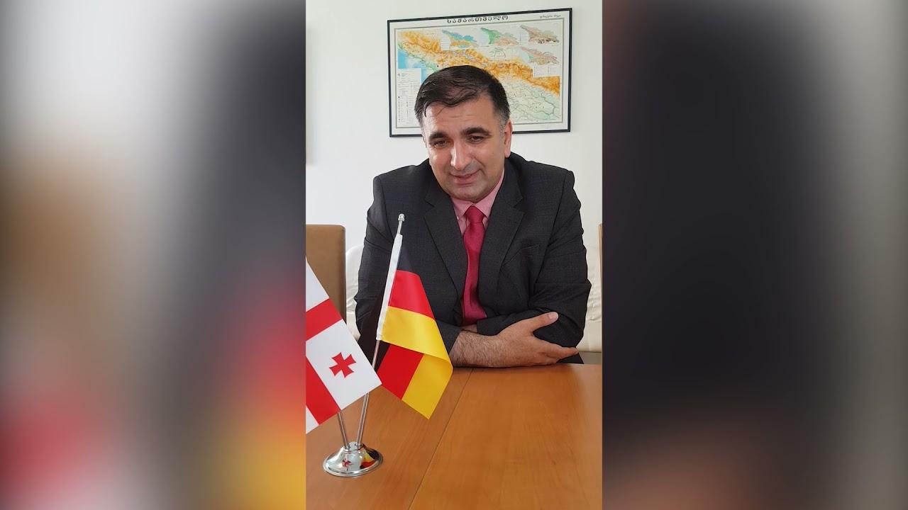 Das 25. Jubiläum von GDZ (Herr Irakli Shurgulaia) (deutsch)
