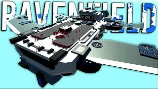 INCREDIBLE FLYING FORTRESS! - Custom Maps Update - Ravenfield Early Access Gameplay (Beta 6)