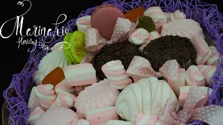 Флористика Букет из Зефира и Маршмэллоу (Мастер класс) Bouquet of marshmallows