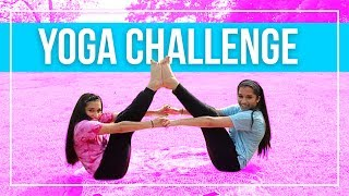 2 person yoga poses rybka twins