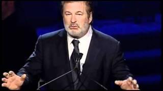 Alec Baldwin introduces Al Pacino, recipient of the Lee Strasberg Artistic Achievement Award