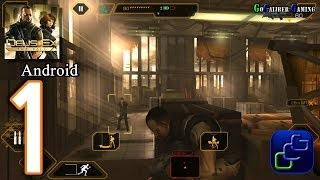 DEUS EX: The Fall Android Walkthrough - Gameplay Part 1 - Novoe Rostov Rooftop