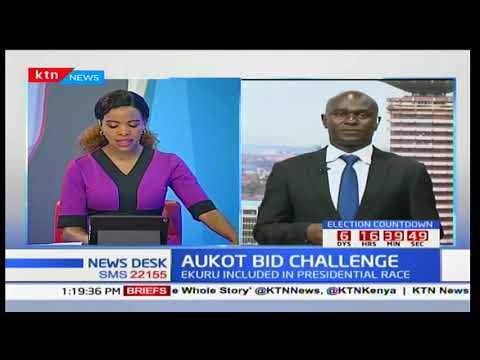 Petition to block Ekuru Aukot from running for presidency withdrawn