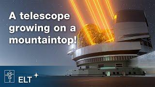 ELT, o maior telescópio ótico em construção