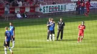 preview picture of video 'Energie Cottbus - Arminia Bielefeld 1:1 (28.9.2014) 3. Liga'