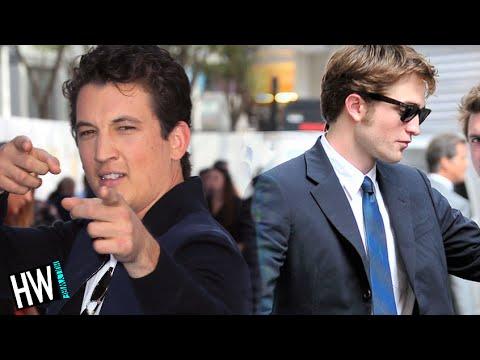 Miles Teller Vs. Robert Pattinson: Drunk Dance-Off