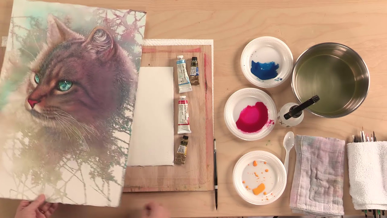 try these loose watercolor painting techniques for stunning backgrounds by artists network