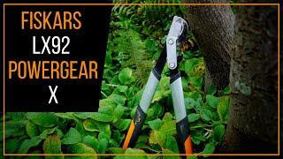 Fiskars LX92 PowerGear X Bypass Lopper Review