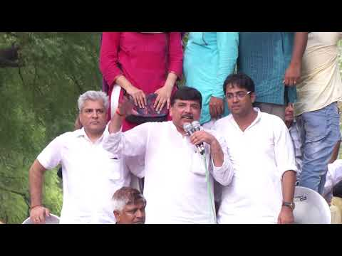 AAP Leader Atishi Marlena Addresses Protest March To the PMO
