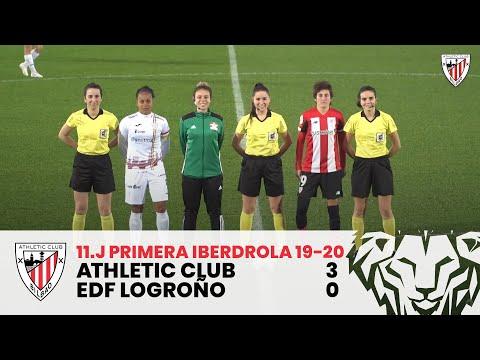 ⚽ Resumen I J11 Primera Iberdrola I Athletic Club – EDF Logroño I Laburpena
