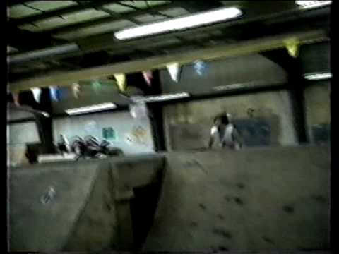 white trash flip at Rampage skatepark on Decobmx.com