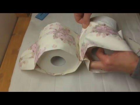 Manualidades creativas: como hacer un porta rollo de papel higienico