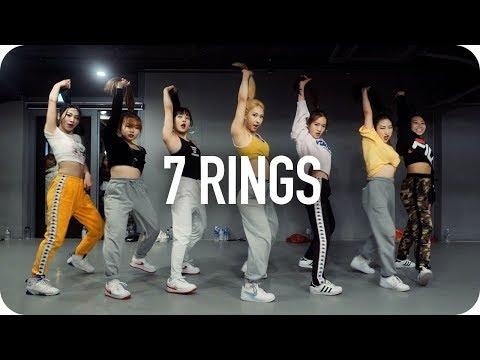 7 rings - Ariana Grande / Mina Myoung Choreography видео