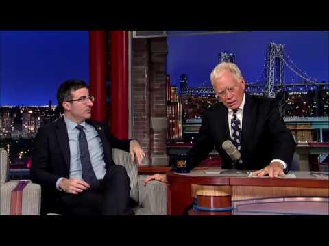John Oliver u Davida Lettermana