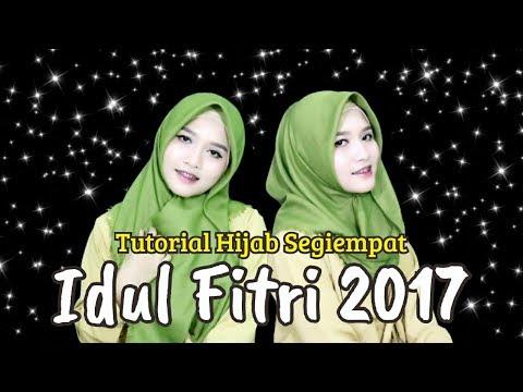 Video Tutorial Hijab Segiempat Rawis Simple Untuk Hari Raya Idul Fitri 2017