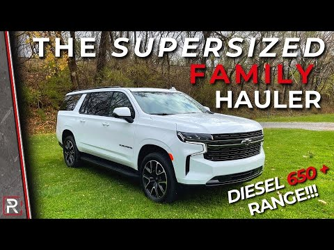 The 2021 Chevrolet Suburban RST Diesel is a Fuel-Efficient Supersized Family SUV