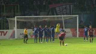 Gol Tendangan Bebas Pemain Frankfurt Vs Arema Saknoe Kipere