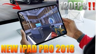 Learning to use to Game on my new iPad Pro 2018 120FPS