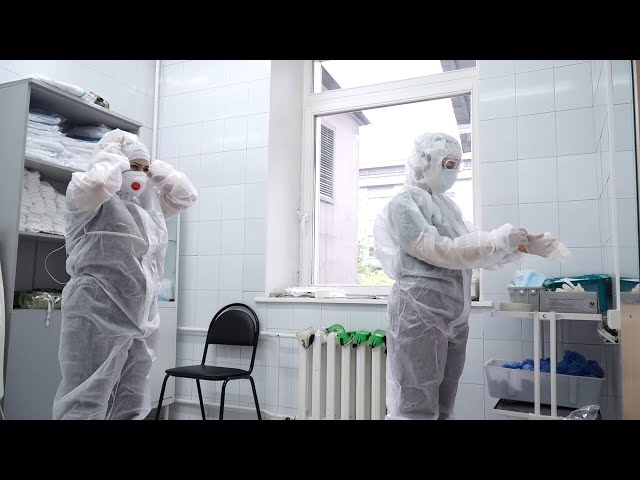 Ангарский округ накрыла третья волна коронавируса