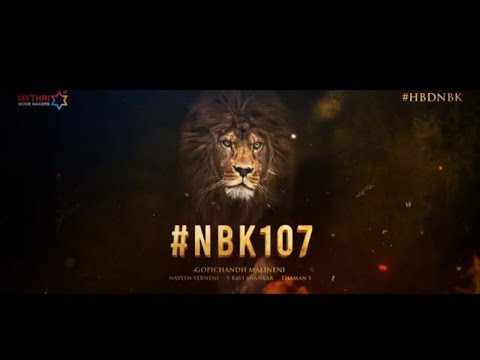 NBK107 - Nandamuri Balakrishna