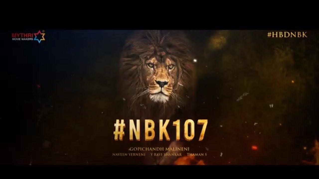 #NBK107 - Nandamuri Balakrishna and Gopichand Malineni