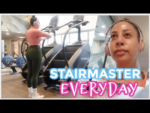 Doing The Stairmaster EVERYDAY // Weight Loss Vlog